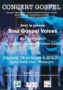 Concert caritatif à Besançon